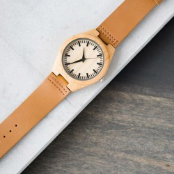 Beautiful Watch made of Wood