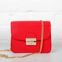 Beautiful Red Bag Leather Skin